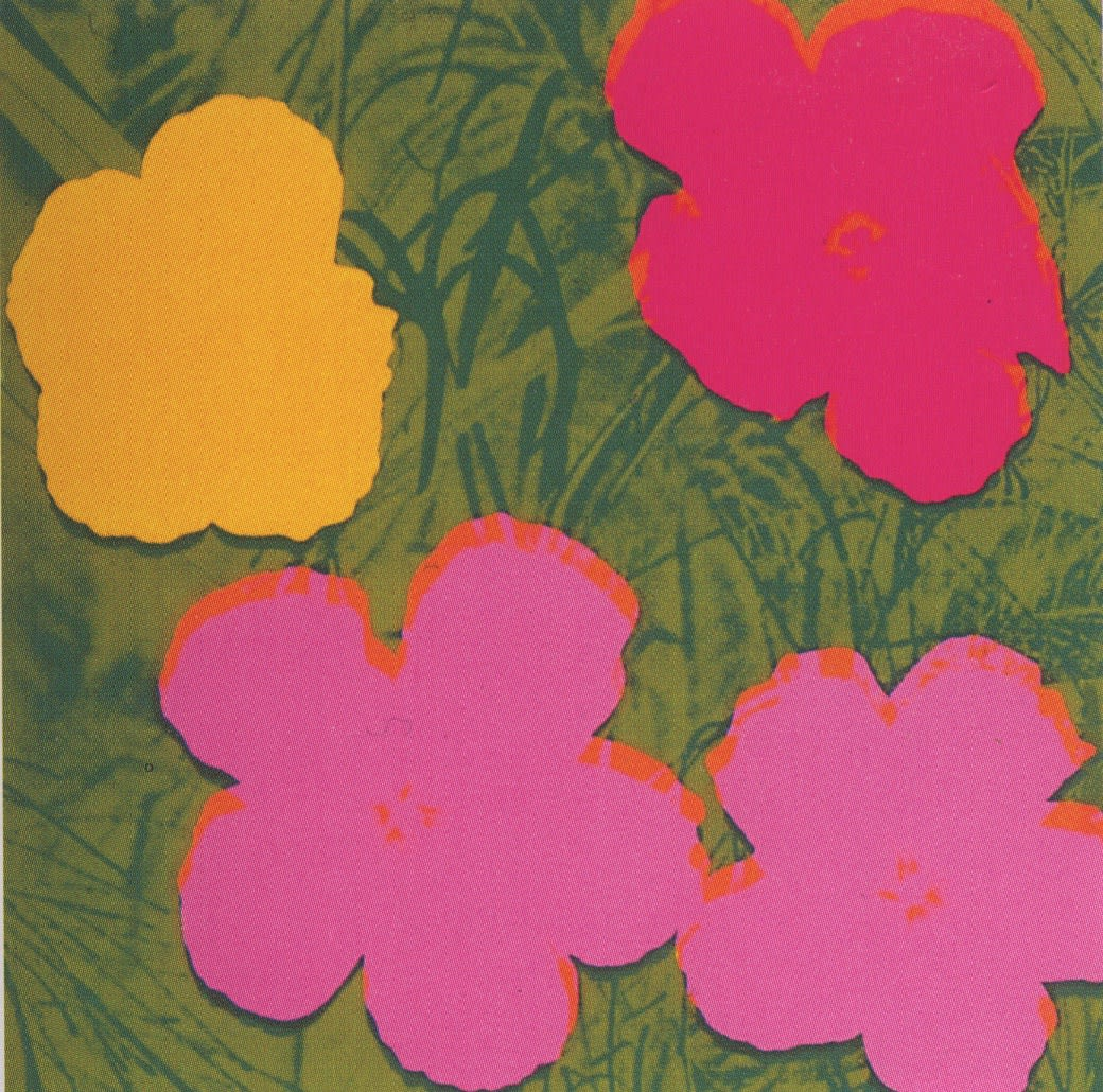 Andy Warhol, Flowers , 1970