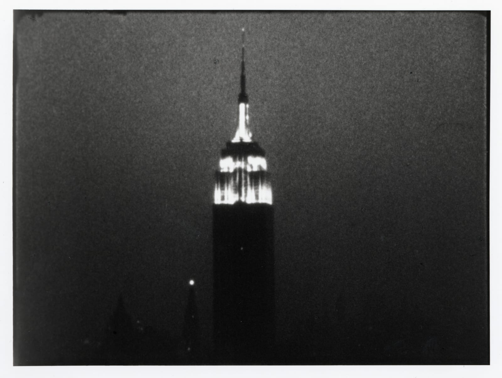 Empire, 1964 by Andy Warhol, Black and White/Indie Film, Courtesy of The Andy Warhol Museum, Pittsburgh, at Coskun Fine Art