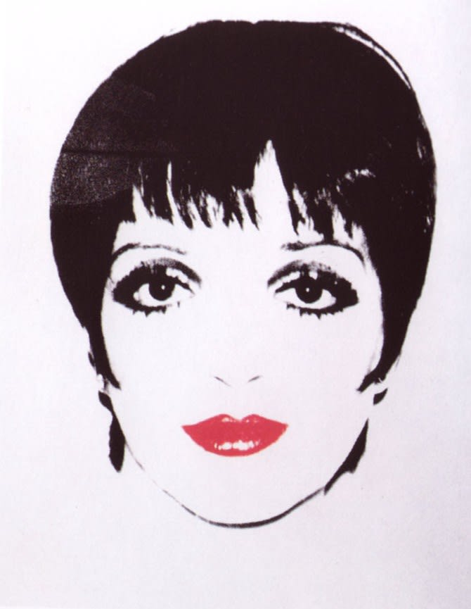 Liza Minelli, 1978 by Andy Warhol, Unique Screenprint at Coskun Fine Art