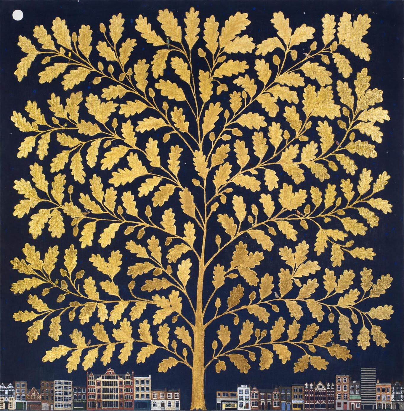 Jethro BUCK (b.1986) London's Oak, 2019 SOLD