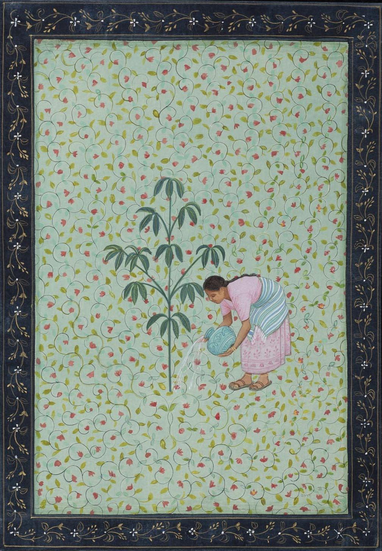 Jethro BUCK (b.1986) The Woman who Plants Trees, 2019