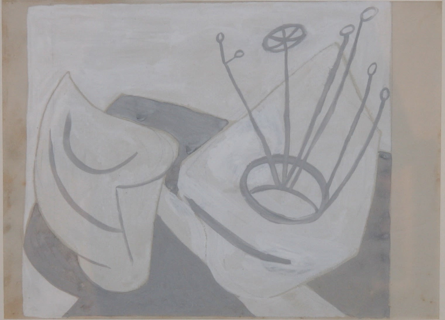 Winifred NICHOLSON (1893 – 1981) Abstract Sequence III, 1935 Gouache on paper 9 x 12 inches / 22.8 x 30.5 cm
