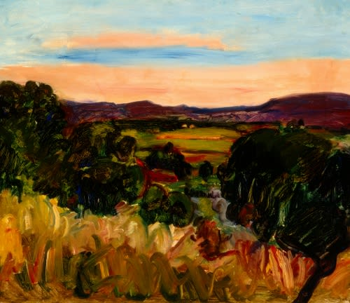 Landscape at Aix (I), 1932 oil on canvas 20 x 24 inches (51 x 61cm)