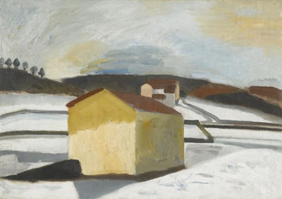 Ben Nicholson, Brown House, Lugano, 1921