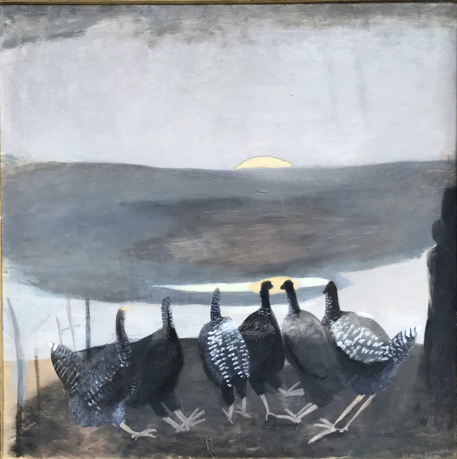 Mary Newcomb, The Bulging Sun, 1980