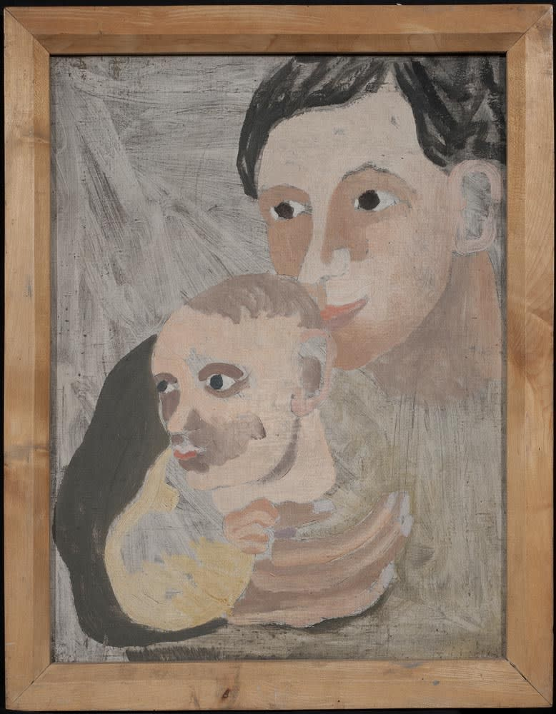 Ben Nicholson, Mother and Son (Winifred and Jake), 1927