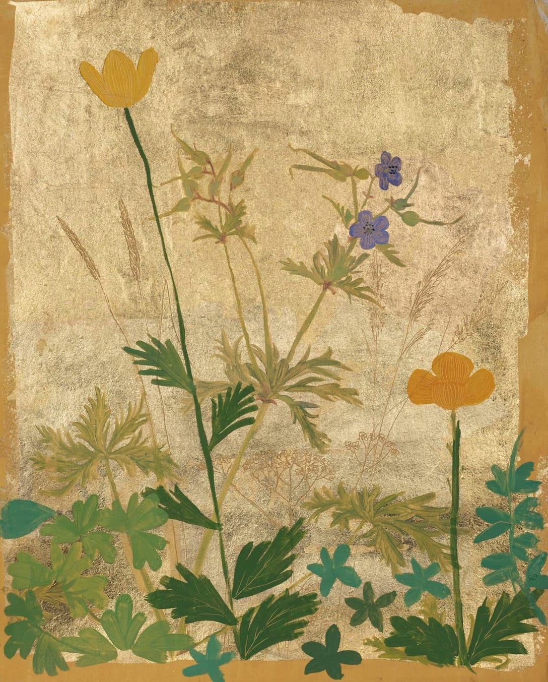 Jethro BUCK (b.1986) Poppies and Cranesbills, 2019