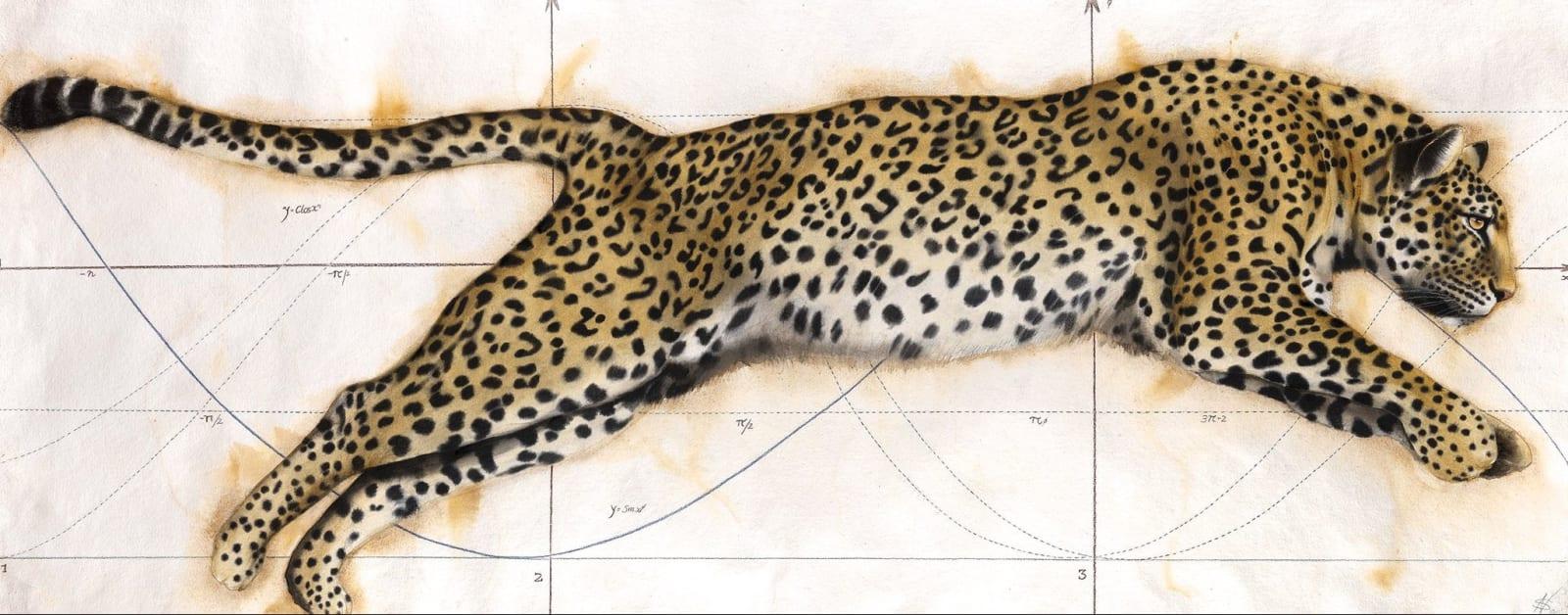 Golden Section II, Watercolour, 37