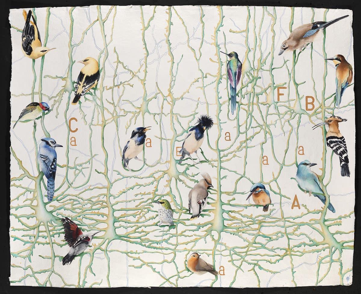 Transmitting, Watercolour, 37