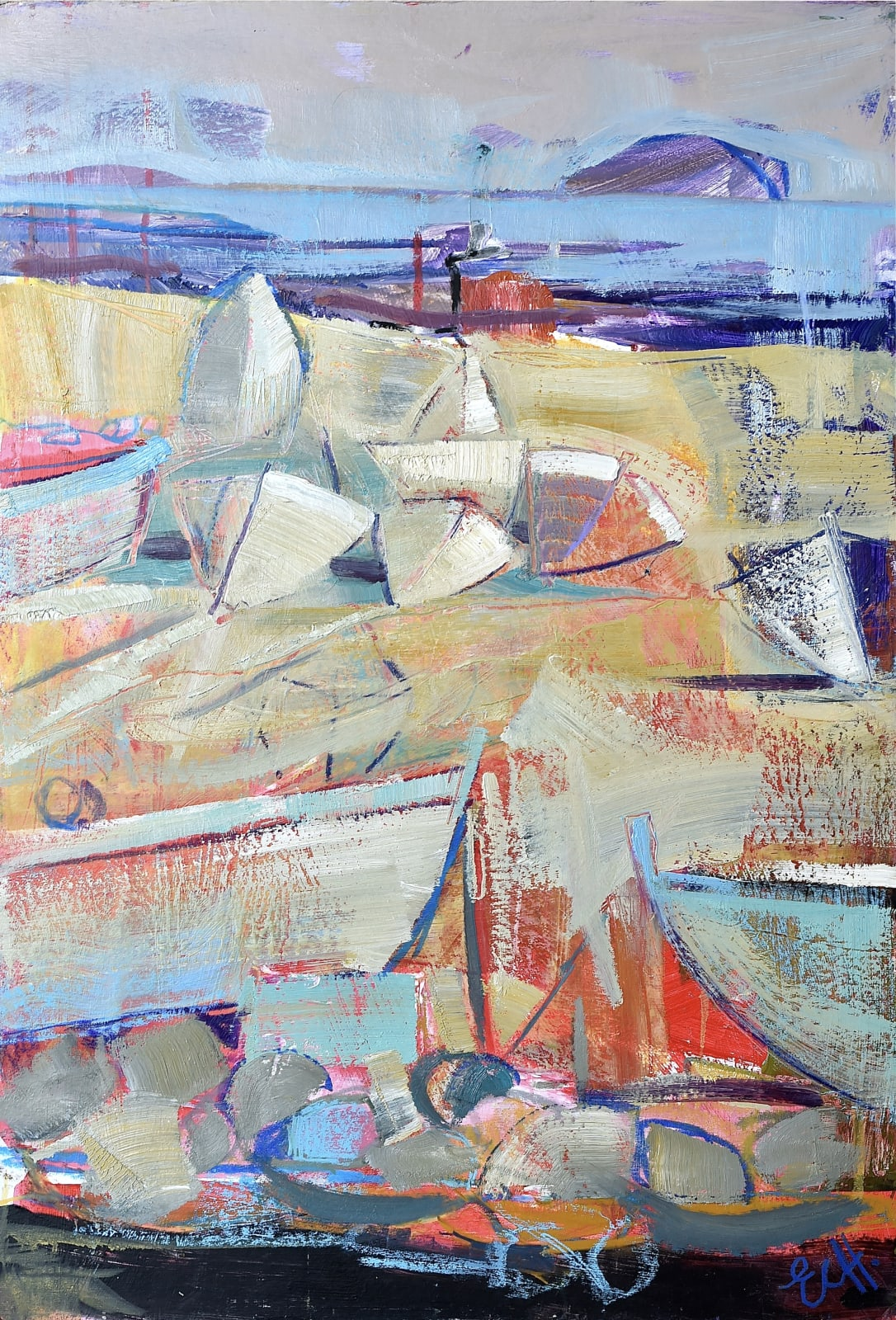 Emma Haggas, Budleigh Boats