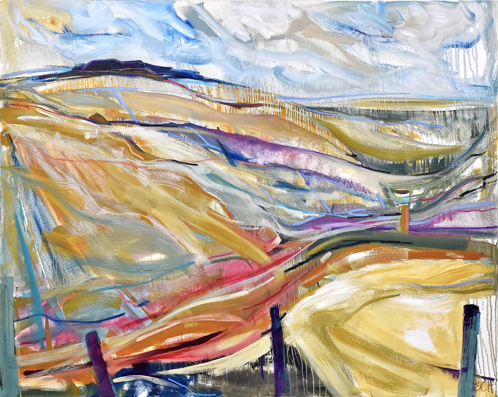 Emma Haggas, Looking to Hippenscombe Bottom