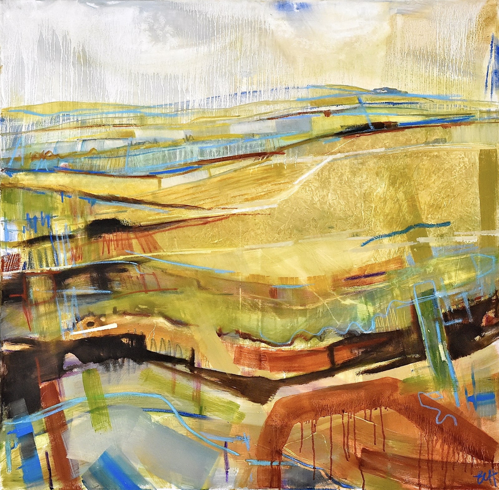 Emma Haggas, View Across the Open Plain