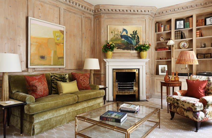 Chloe Lamb in a Chelsea Townhouse Project