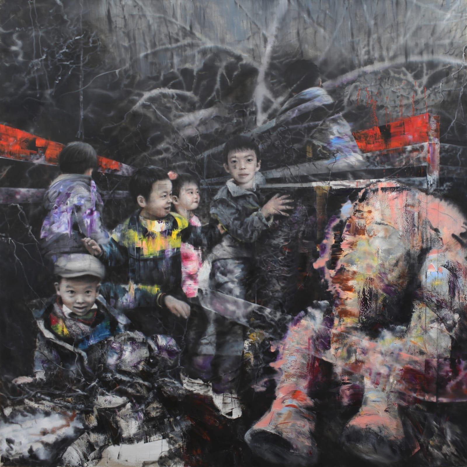 Tianbing Li, Sous Les Branches, 2017