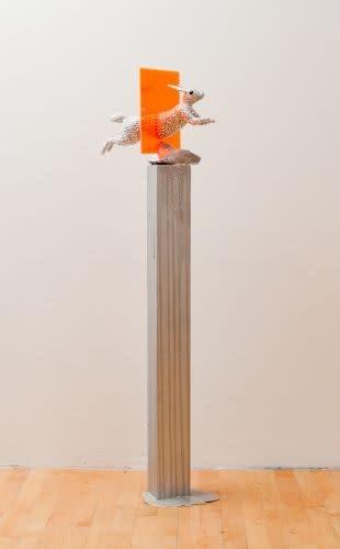 Andrea Stanislav, White Rabbit, Orange Sqaure, 2012
