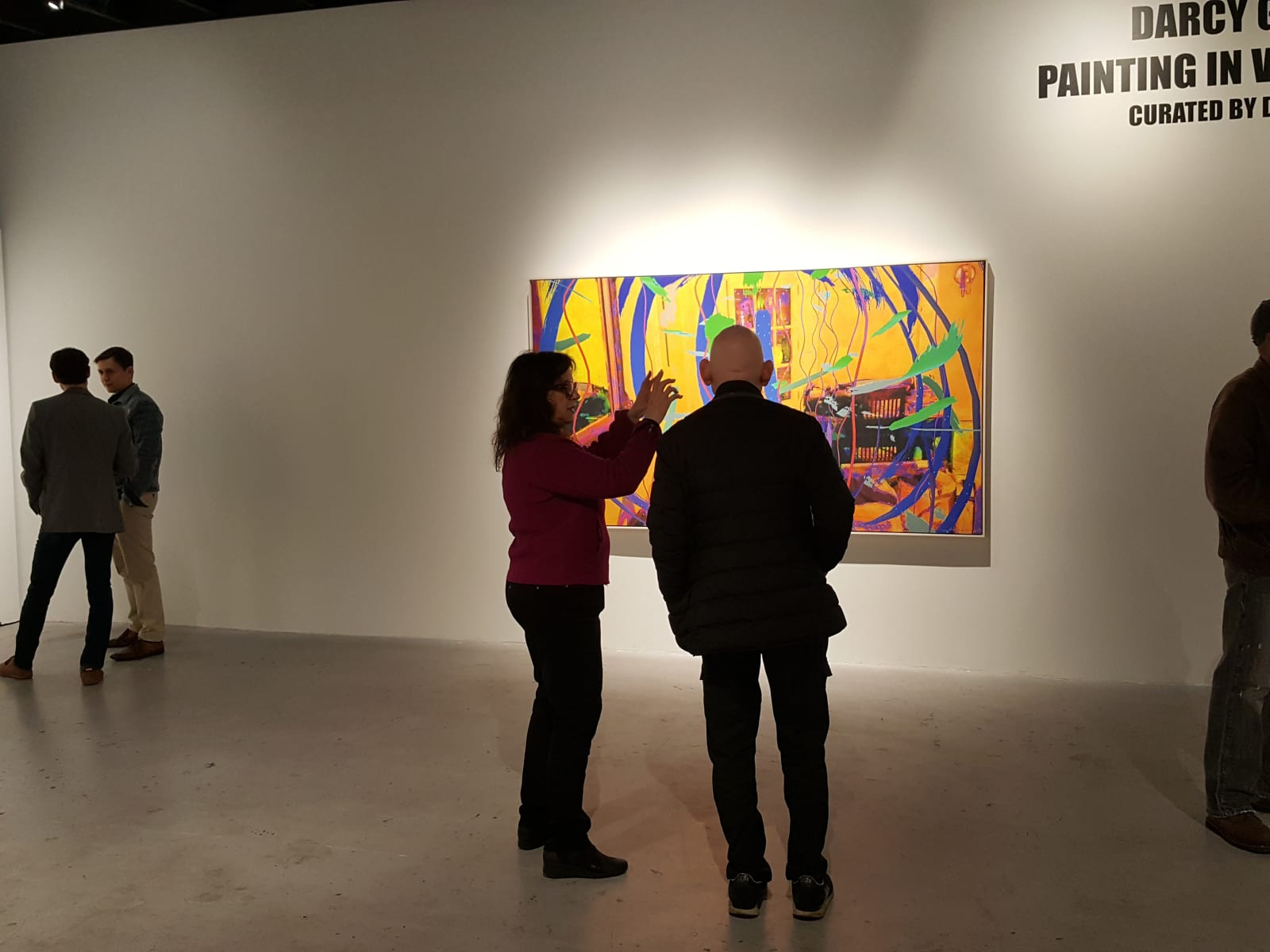 Darcy Gerbarg and Peter Frank, Curator