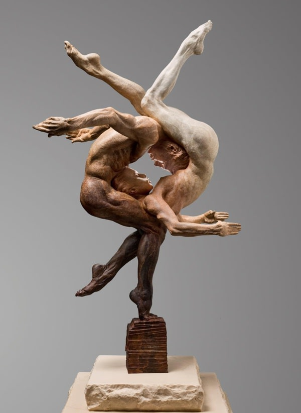 Richard MacDonald Duality (Yin & Yang II), 2016