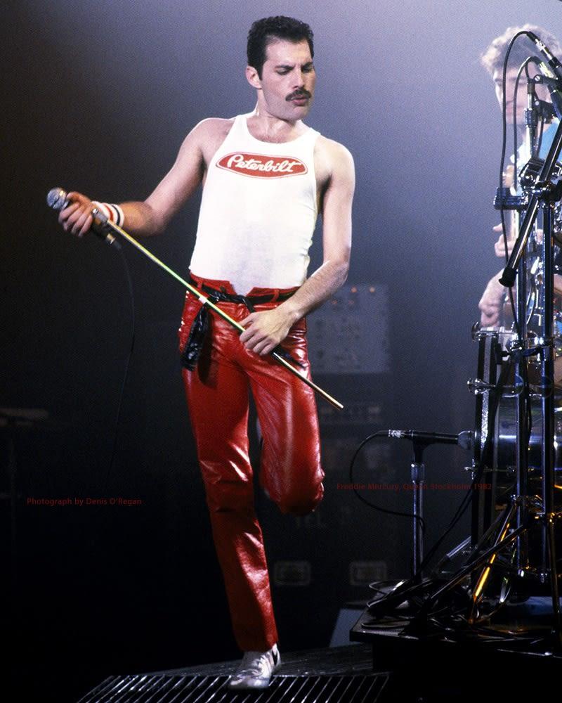 QUEEN, Freddie Mercury live Stockholm, 1982