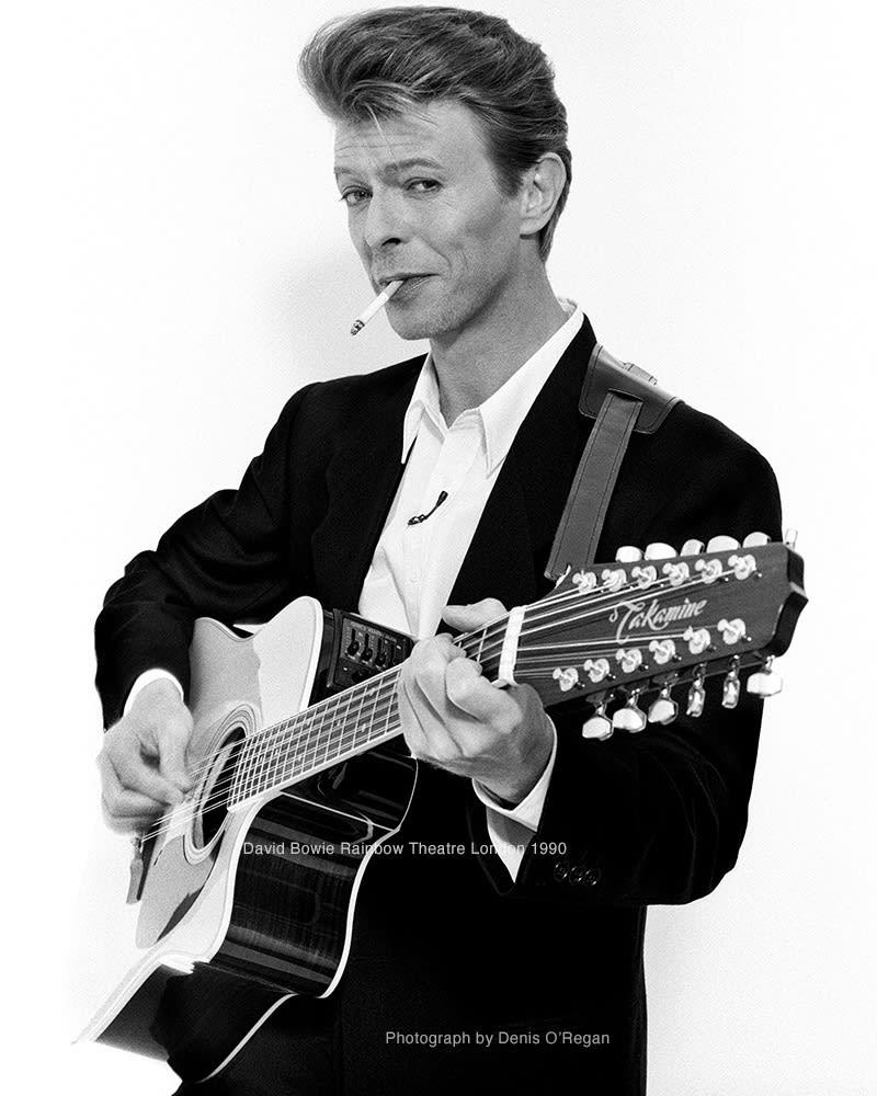 DAVID BOWIE, David Bowie Rainbow Theatre, 1990
