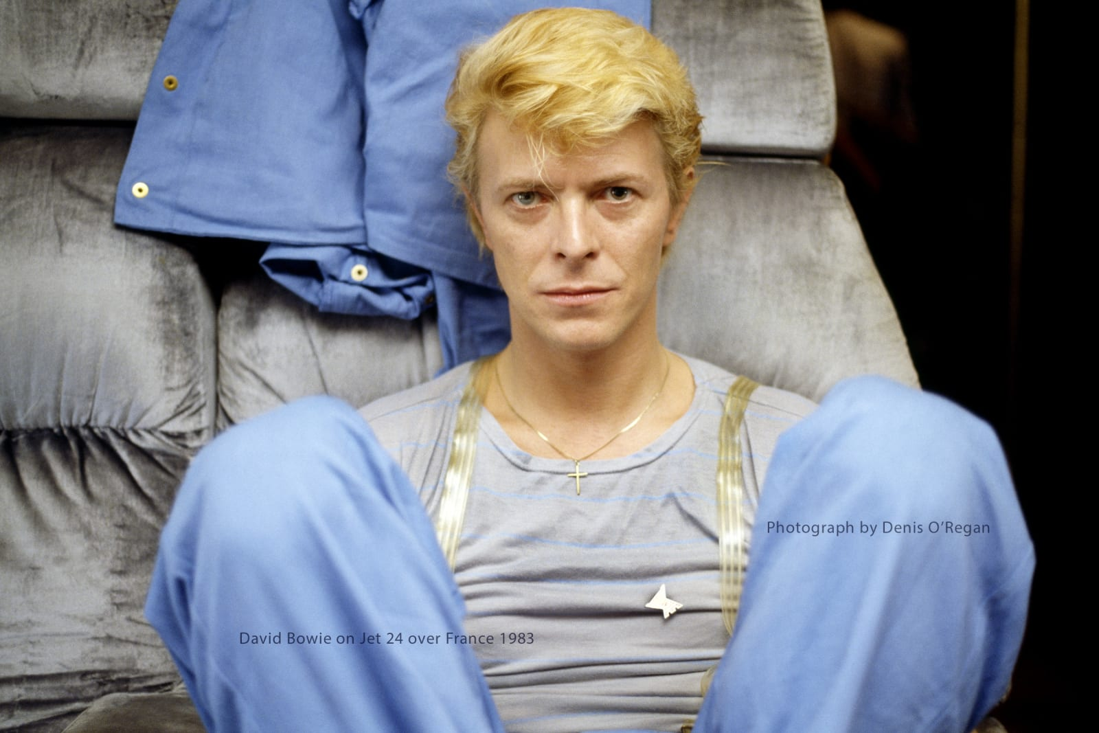DAVID BOWIE, David Bowie Jet 24 over France, 1983
