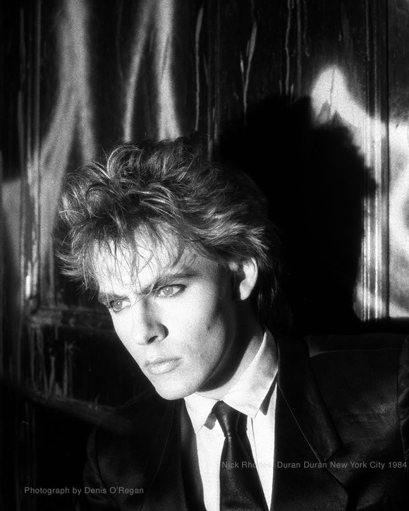 DURAN DURAN, Nick Rhodes New York, 1984