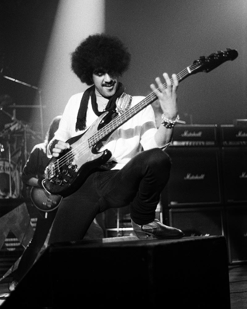 THIN LIZZY, Phil Lynott Live, 1982