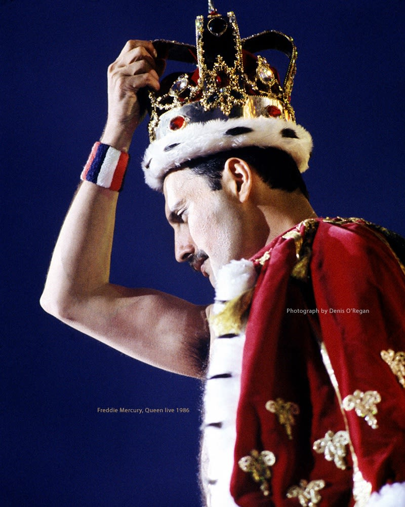 QUEEN, Freddie's Crowning Moment, 1986