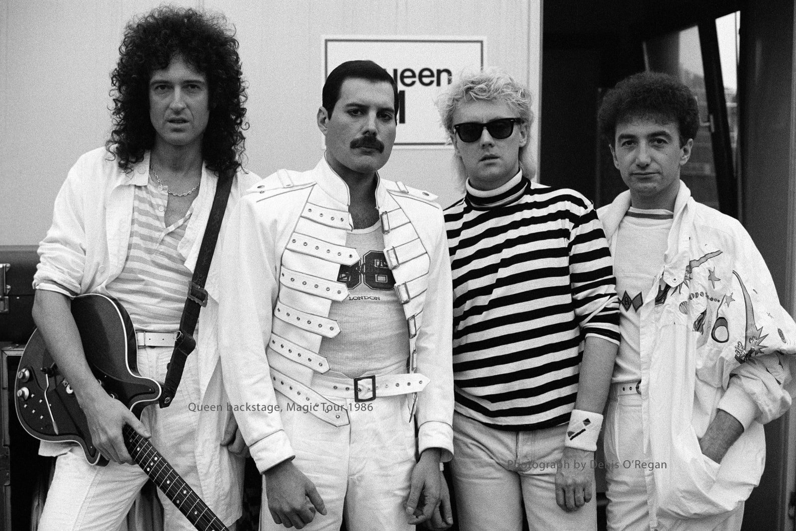 QUEEN, Queen backstage, 1986