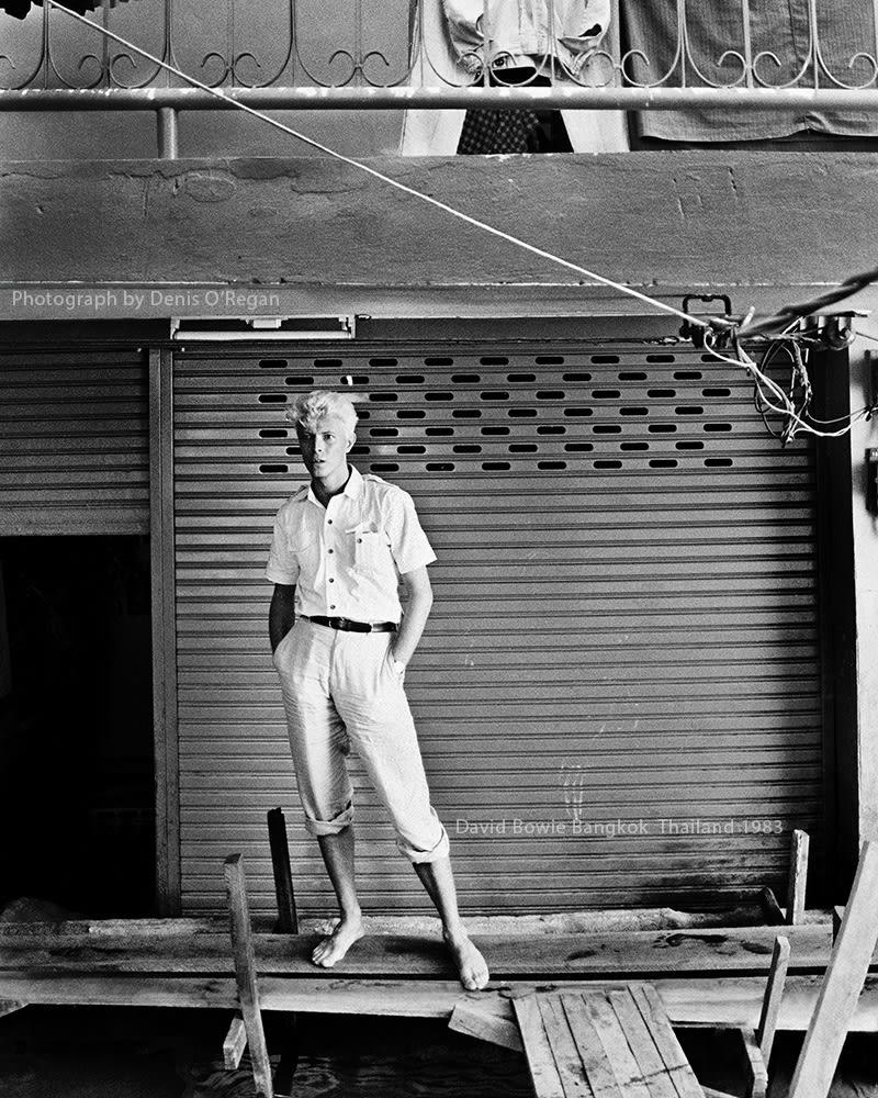 DAVID BOWIE, David Bowie Bangkok, 1983
