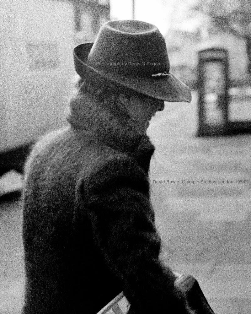 DAVID BOWIE, David Bowie Olympic Studios, 1974