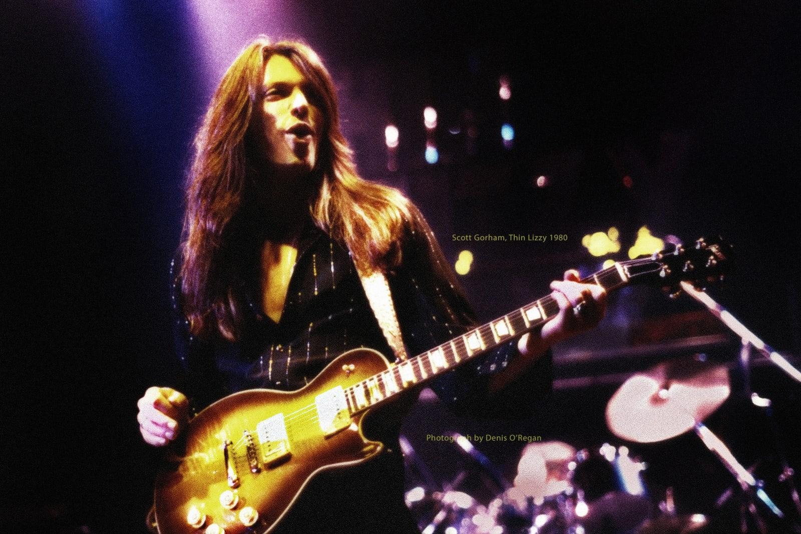 THIN LIZZY, Scott Gorham live, 1980