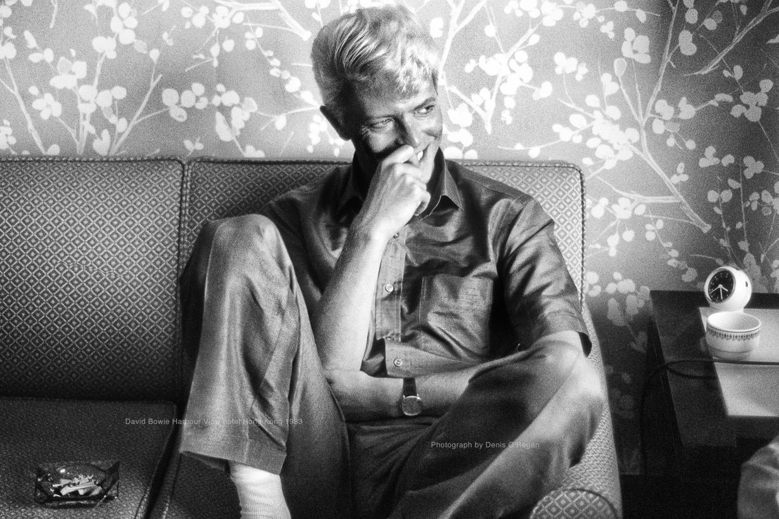DAVID BOWIE, David Bowie Hong Kong, 1983