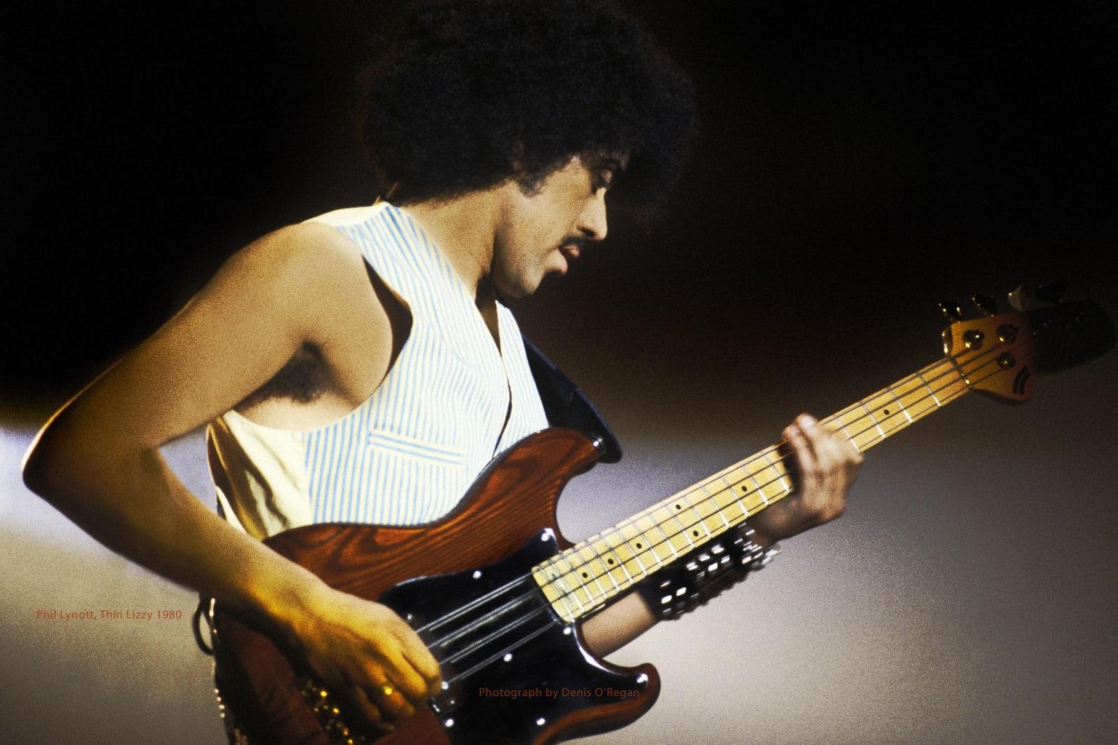 THIN LIZZY, Phil Lynott live, 1980