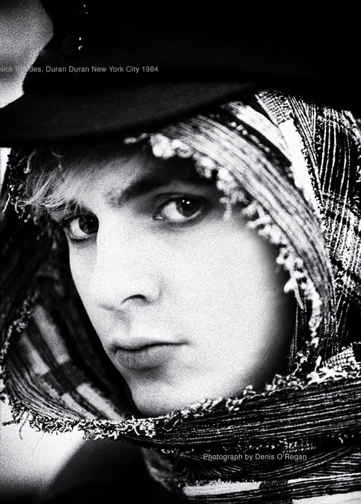 DURAN DURAN, Nick Rhodes New York City, 1984