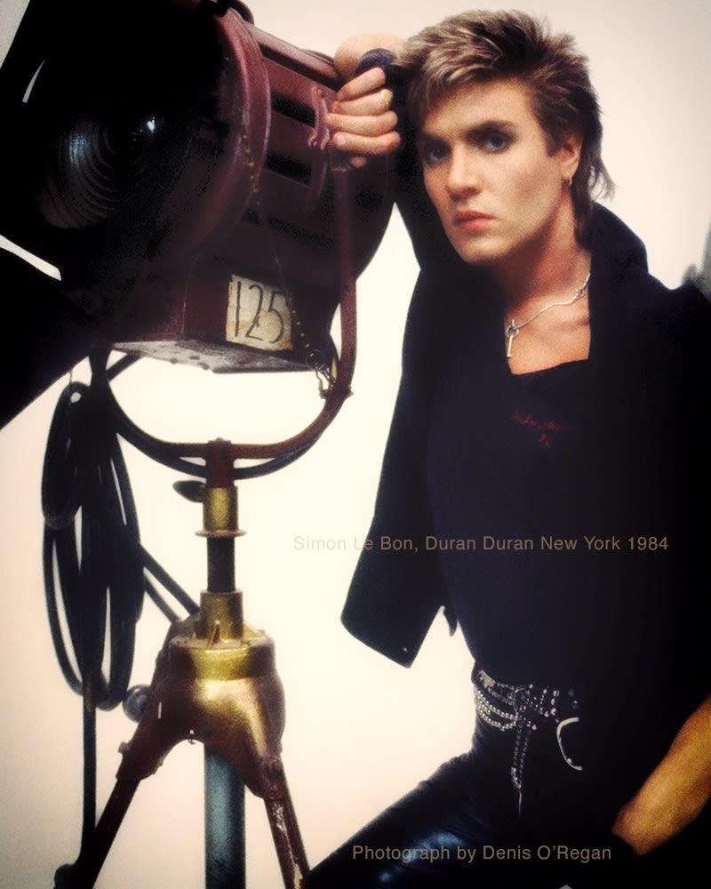 DURAN DURAN, Simon Le Bon NYC, 1984