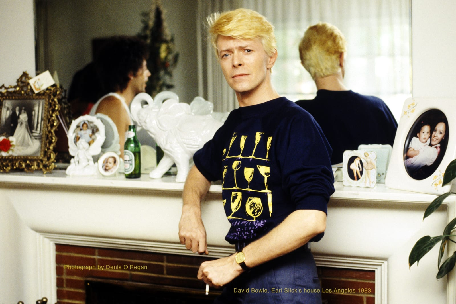 DAVID BOWIE, David Earl Slick's House, 1983