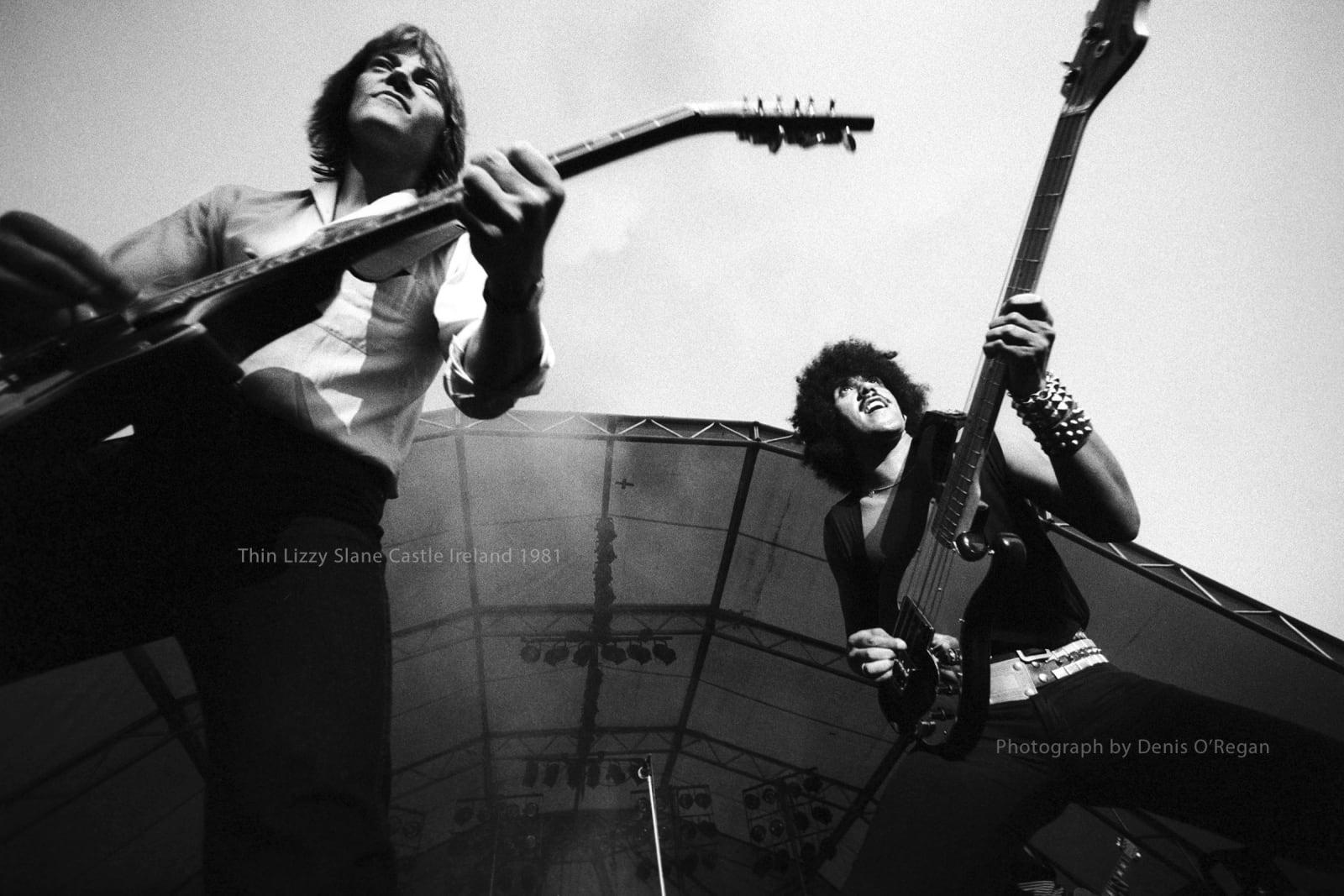 THIN LIZZY, Thin Lizzy Slane Castle, 1981