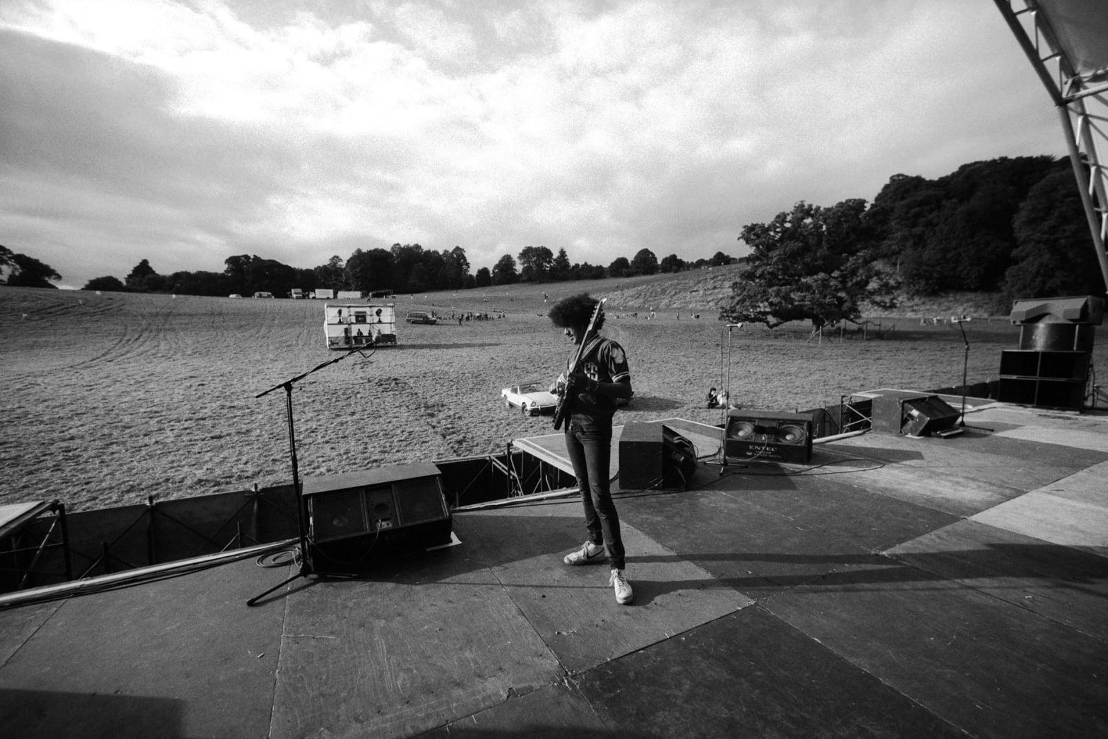 THIN LIZZY, Slane Castle Soundcheck, 1981
