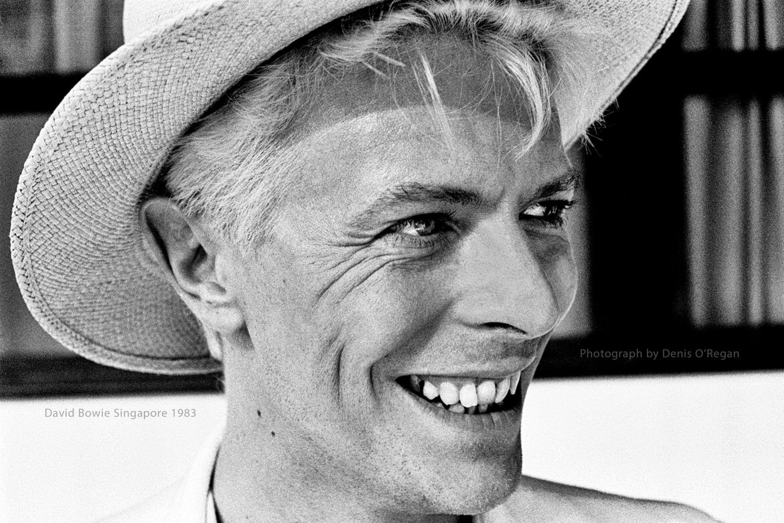 DAVID BOWIE, David Bowie Singapore, 1983