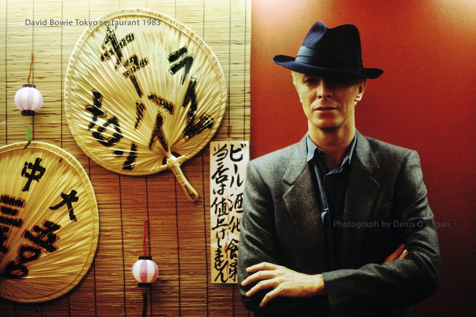DAVID BOWIE, David Bowie Tokyo Restaurant, 1983