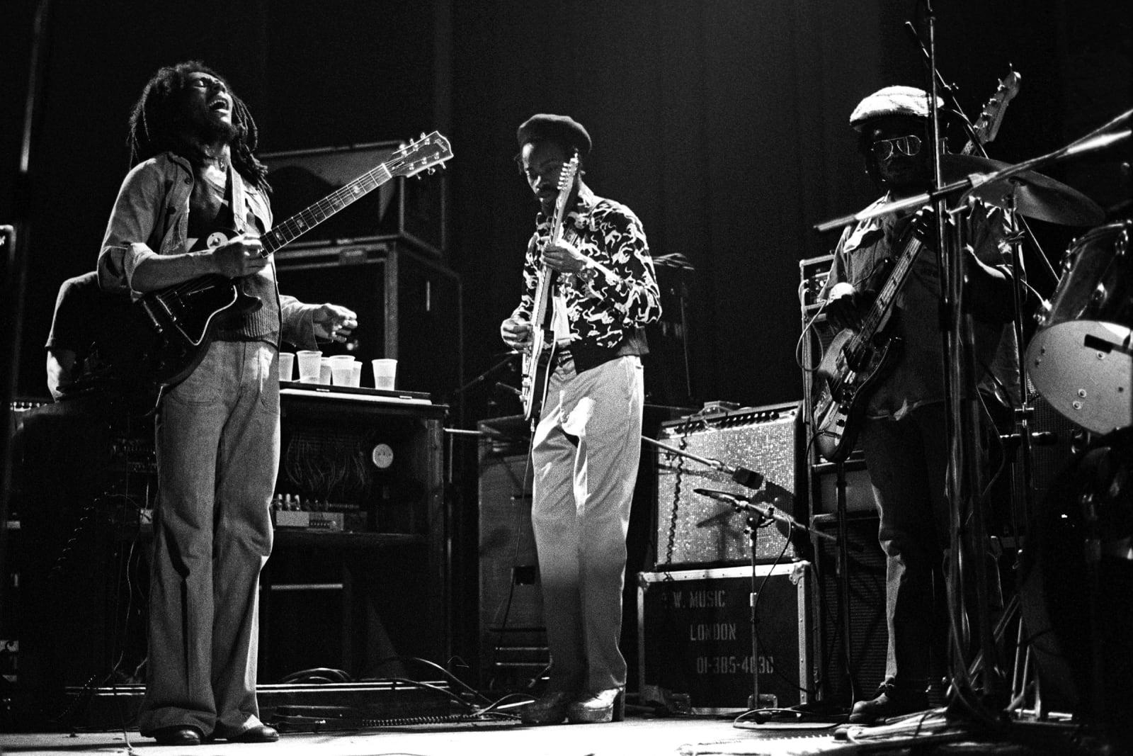 BOB MARLEY, Bob Marley Hammersmith, 1976