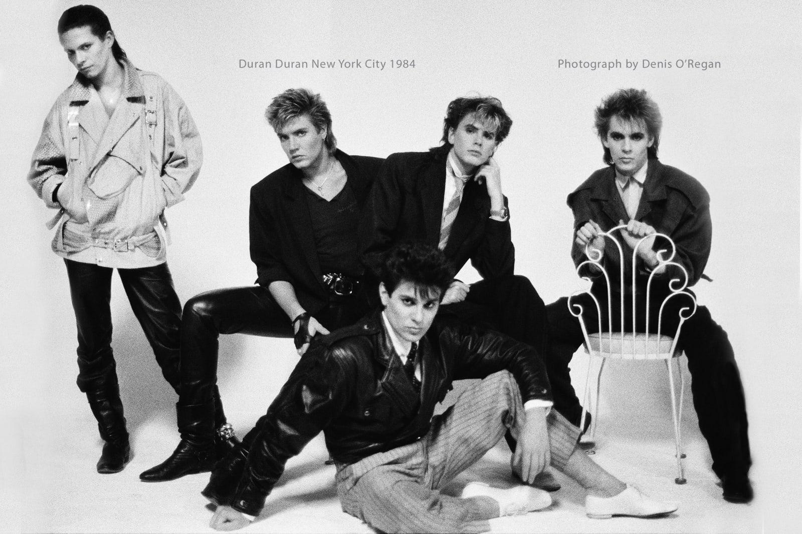 DURAN DURAN, Duran Duran New York, 1984