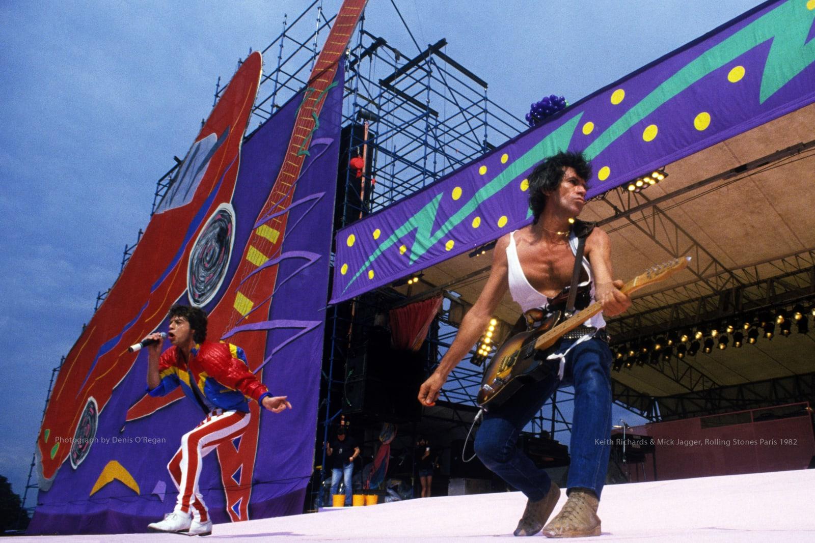 ROLLING STONES, Rolling Stones Paris, 1982