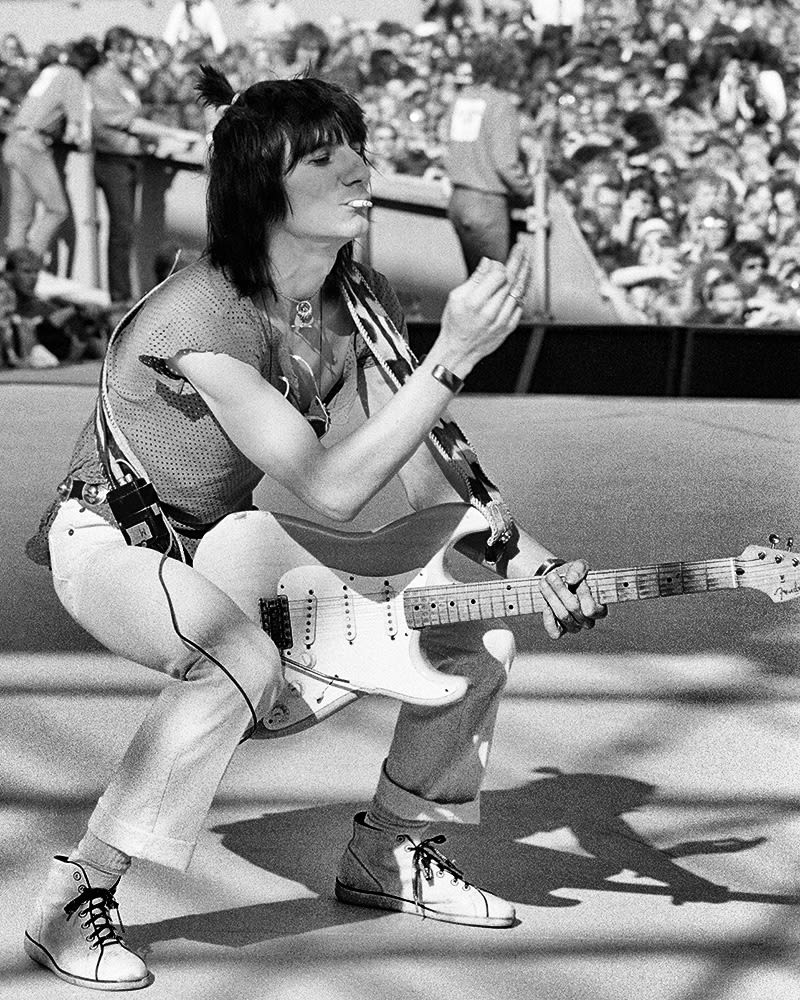 ROLLING STONES, Ronnie Wood live, 1982