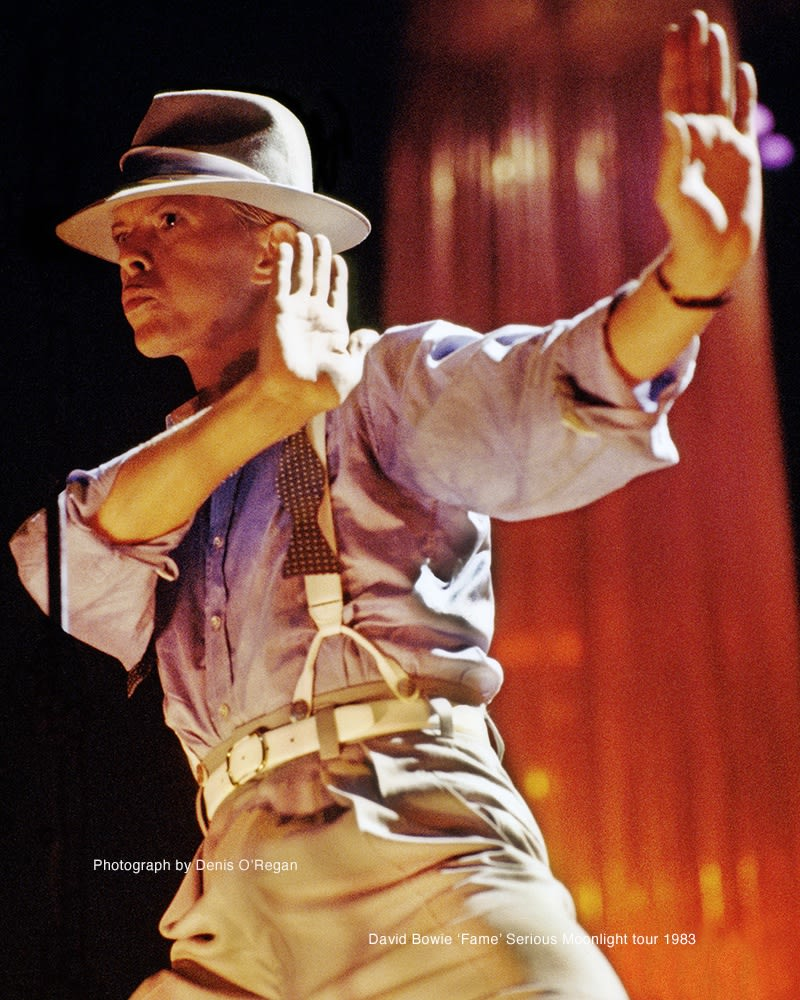 DAVID BOWIE, David Bowie Live In Europe, 1983