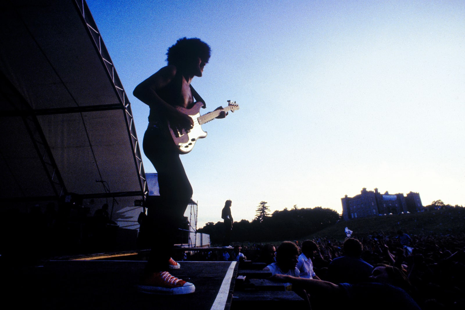 THIN LIZZY, Phil Lynott Slane Castle, 1981