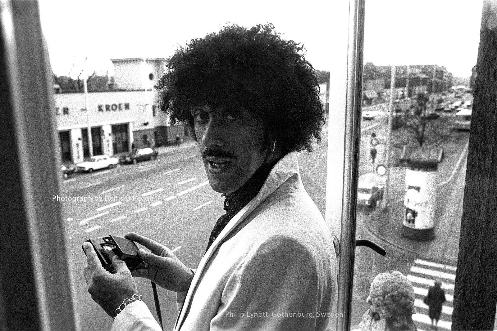 THIN LIZZY, Philip Lynott Gothenburg, 1981