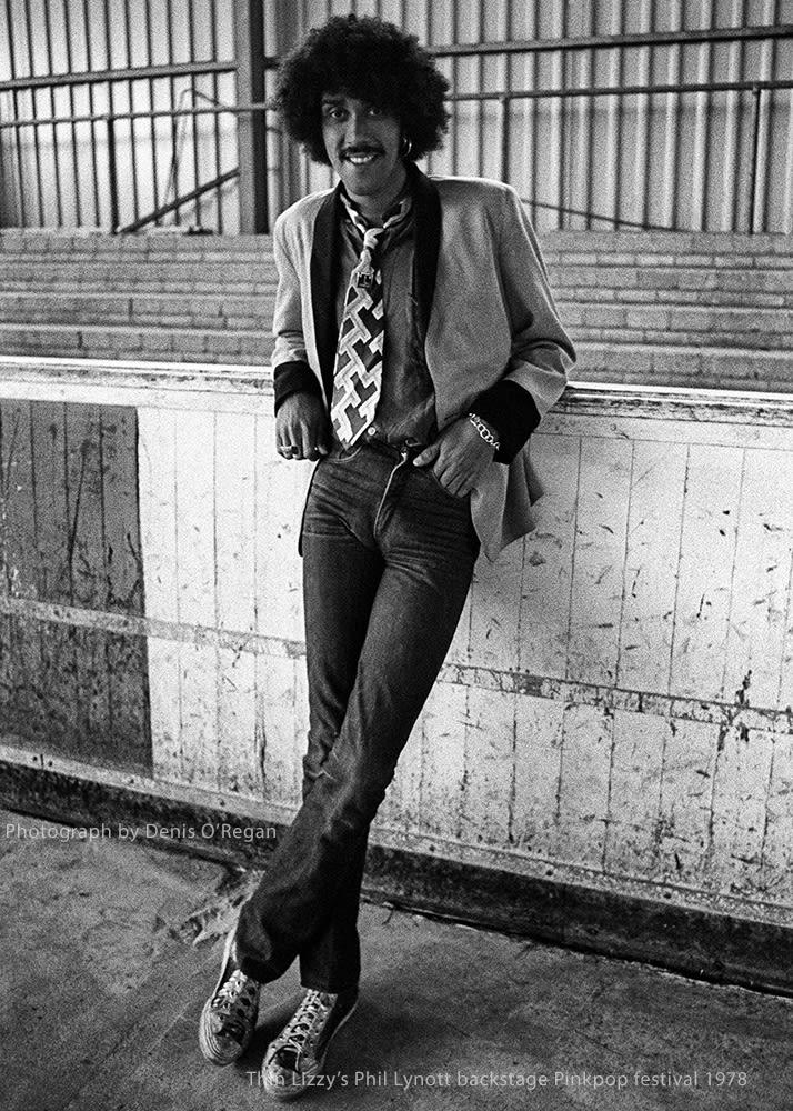 THIN LIZZY, Philip Lynott Pinkpop, 1978
