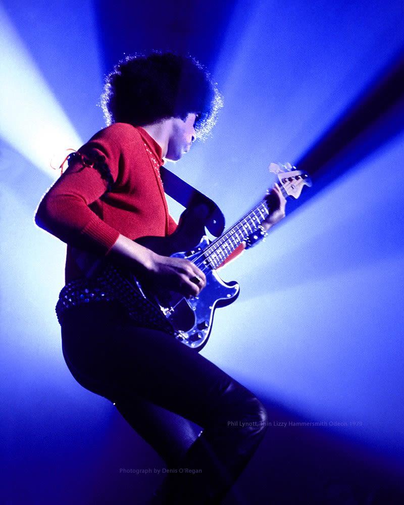 THIN LIZZY, Phil Lynott Hammersmith, 1979
