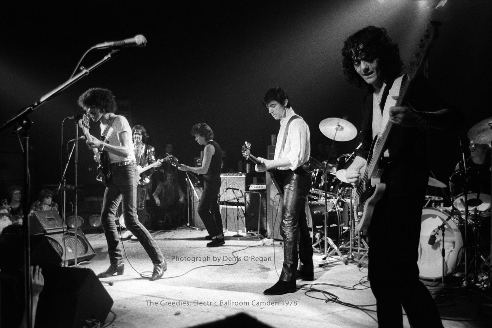 THIN LIZZY, The Greedies Camden Town, 1978